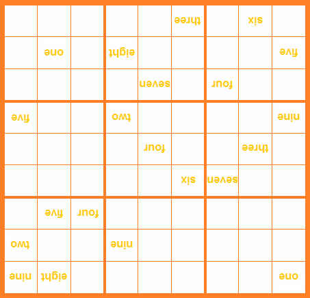 DOOFUS - Digitless Outrageously Orange Fluorescent Upside-down Sudoku.png